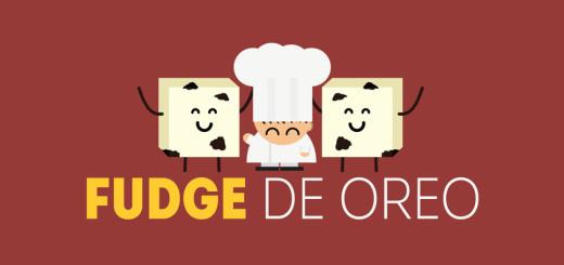 Curta com sabor ensina com uma animação como fazer Fudge com Oreo. Ingredientes: Leite condensado, chocolate branco e oreo