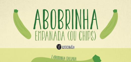 """Receita ilustrada de Abobrinha empanda, que quando cortada bem fina vira um Chips de Abobrinha. Essa receita é muito fácil de preparar e é """"saudável"""". Ingredientes: Abobrinha, farinha de pão, parmesão, sal, limão e orégano."""