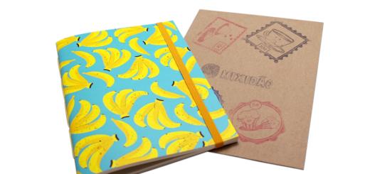Sketchbook Bananas - 14x20 - Mixidão